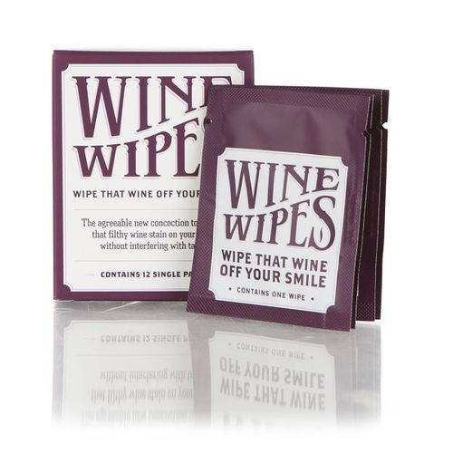 Individual Wine Wipes