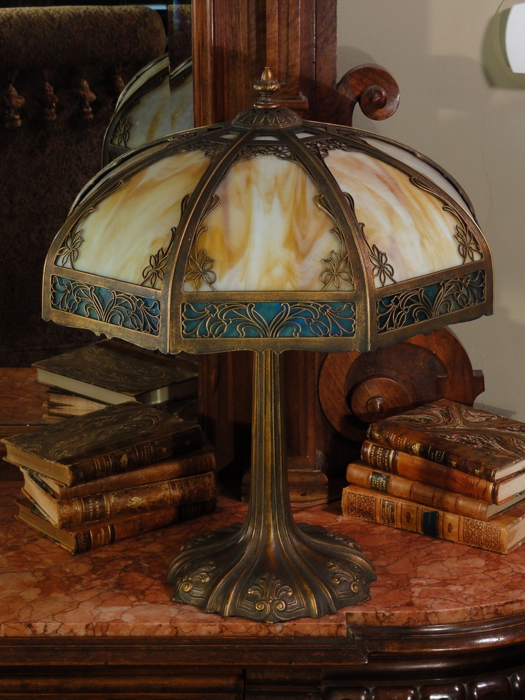 17 Best Images About Lamps Slag Glass Stained Glass
