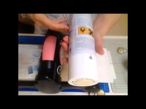 Tutorial: Come schiacciare i tappi di bottiglia con la Big Shot - How to Flatten bottle cups - YouTube
