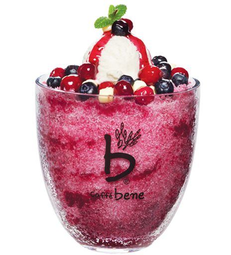 Korean shaved ice dessert: Wine Bingsu (와인빙수), 12000원, 815kcal #Summer #KoreanFood
