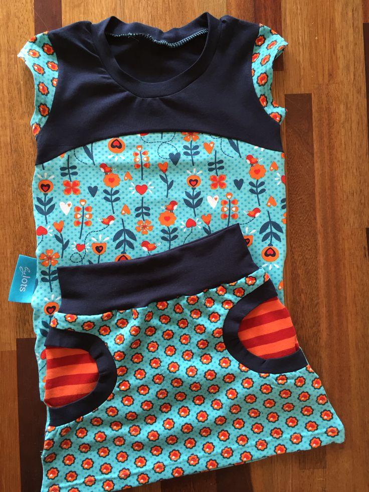 Liv skirt / rokje en Nivalis shirt van Sofilantje