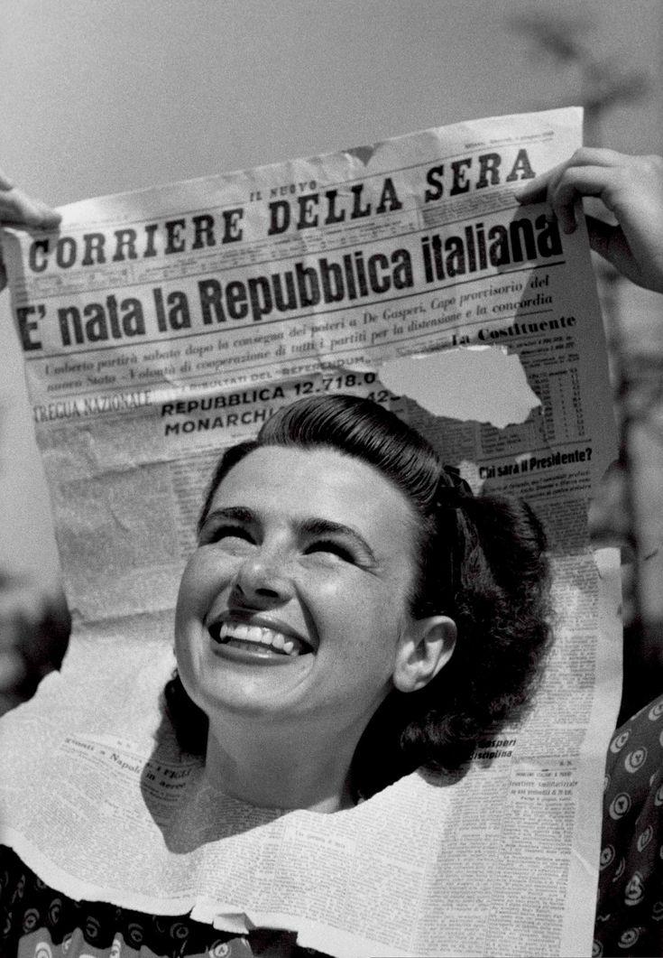 Federico Patellani, copertina di Tempo n. 22, del 15-22 giugno 1946