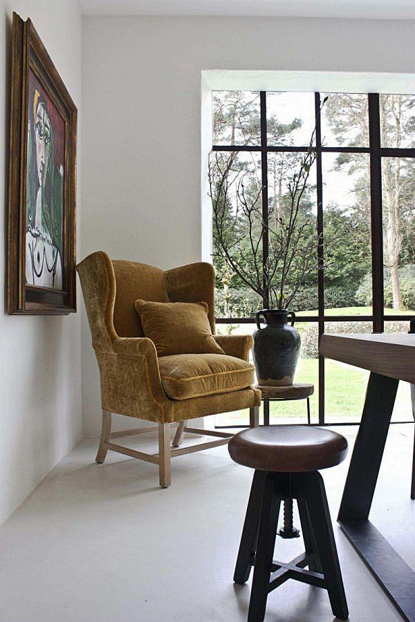 Moderne keuken in landelijk huis van de Appelboom. Bekijk meer foto's van dit interieur op Walhalla.com