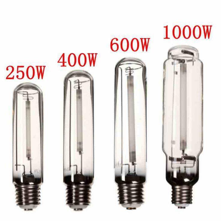 Crece La Luz HPS Lámpara E40 250 W/400 W/600 W/1000 W de Sodio De Alta Presión de La Flor bulbo Flores Verduras Planta Crece La Lámpara De Lastre