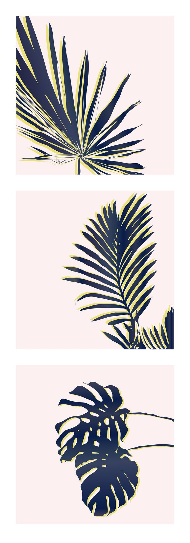 Pink Palm Leaves - National Pink Day