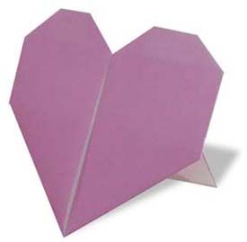 Origami Heart Stand