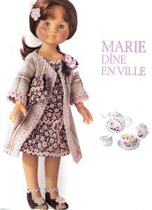Modèle pour Marie Marie-Claire Idées n° 60 - Mars 2006