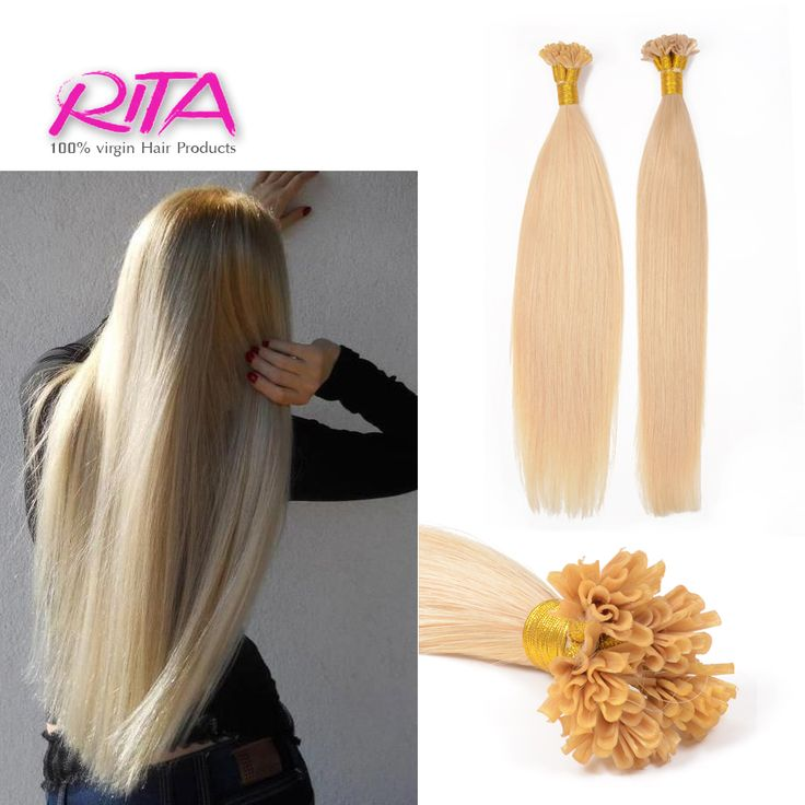 """Hair Extension 1  0.5g/strand 18""""-24"""" Nail U Flat Tip Brazilian Remy Hair Straight Capsule Keratin  Fusion Full Human Hair Extensions * Details on product can be viewed by clicking the image"""