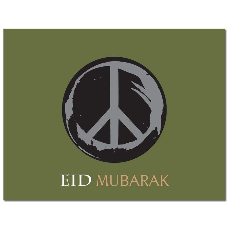 Let's give peace a chance from #Soulfulmoon- Earthy Eid