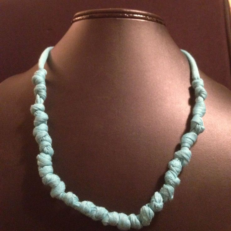 Knotted necklace by simplicity is king :)