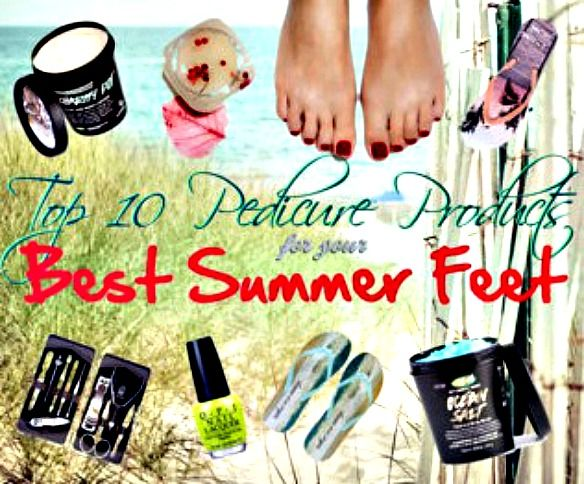 Top 10 Pedicure Products for the Best Looking Summer Feet via @blushingnoir