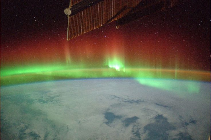 7. Juli 2014, Südlicht, ISS, Alexander Gerst