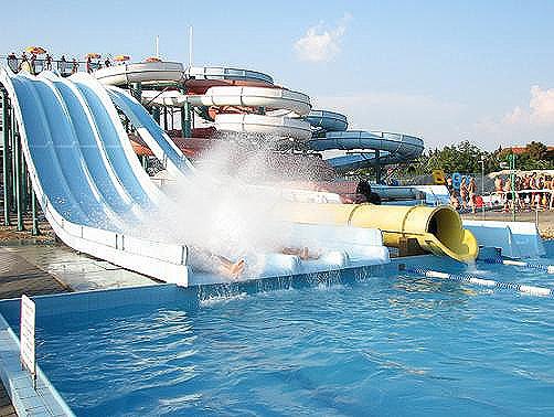 Hungarospa Aquapark, Hajduszoboszlo, Hungary