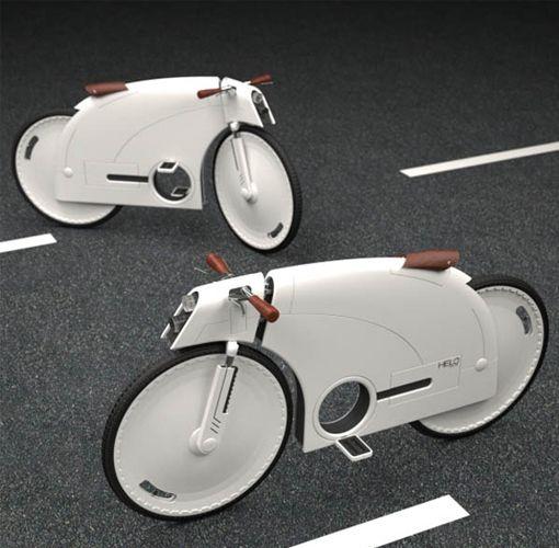 Oui, vous êtes bien en présence d'un vélo ! Et d'un « vélo-antivol » qui plus est… Conçu par Junkyo Lee, ce superbe concept bike a été imaginé pour empêcher les malandrins de venir se servir… Comment ça marche ? Tout d'abord, composez un code via les molettes, validez puis tirez sur le guidon : la partie …