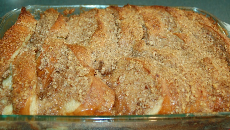 The Slow Roasted Italian: Baked French Toast Casserole...new Christmas morning addition!