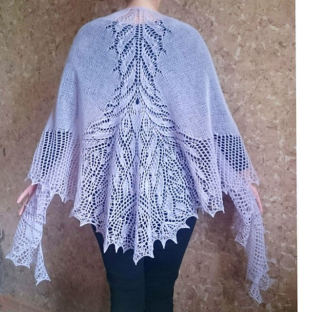New Free & Fun KAL has already begun on Raverly! Here is a picture of The Tribulus Shawl! Happy knitting! Love & Hugs! Welcome to participate in our WONDERFUL HiyaHiya Free & Fun KAL at http://www.ravelry.com/groups/hiyahiya-patterns-kal.