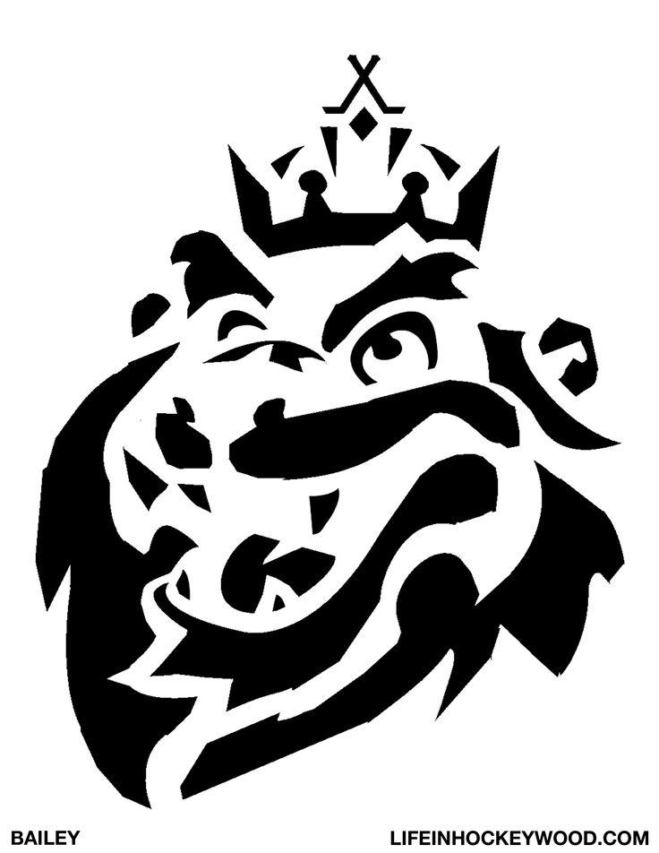 Stencil King Crown: LA KINGS BAILEY STENCIL