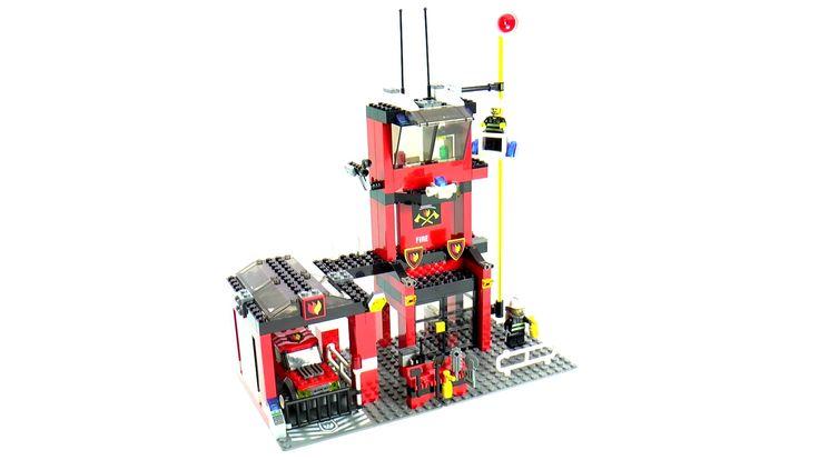 Image result for lego system fire station instruction