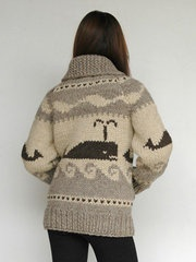 Love this whale sweater from Granted Clothing.