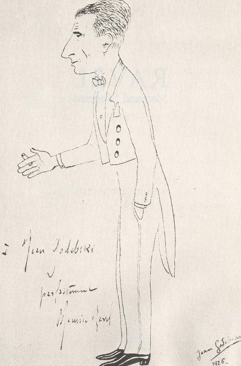 Maurice Ravel by Jean Godebski