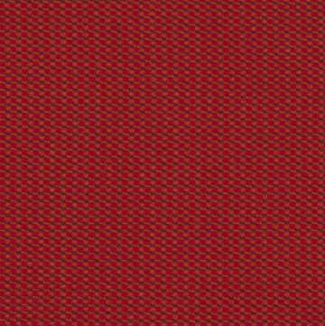 Cross Dye - Crimson | Cross Dye is a high-performance action fabric with a two-tone small grid texture. It's offered in a broad range of neutrals and bright colors, making it ideal for task and guest seating. It's made from 66% recycled polyester and is Facts Gold certified, andits low price point is attractive for high-volume and budget-oriented projects.