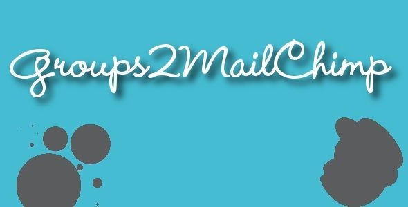 Groups2Mailchimp - Groups Mailchimp Integration
