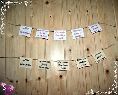 Invitaciones de boda caseras