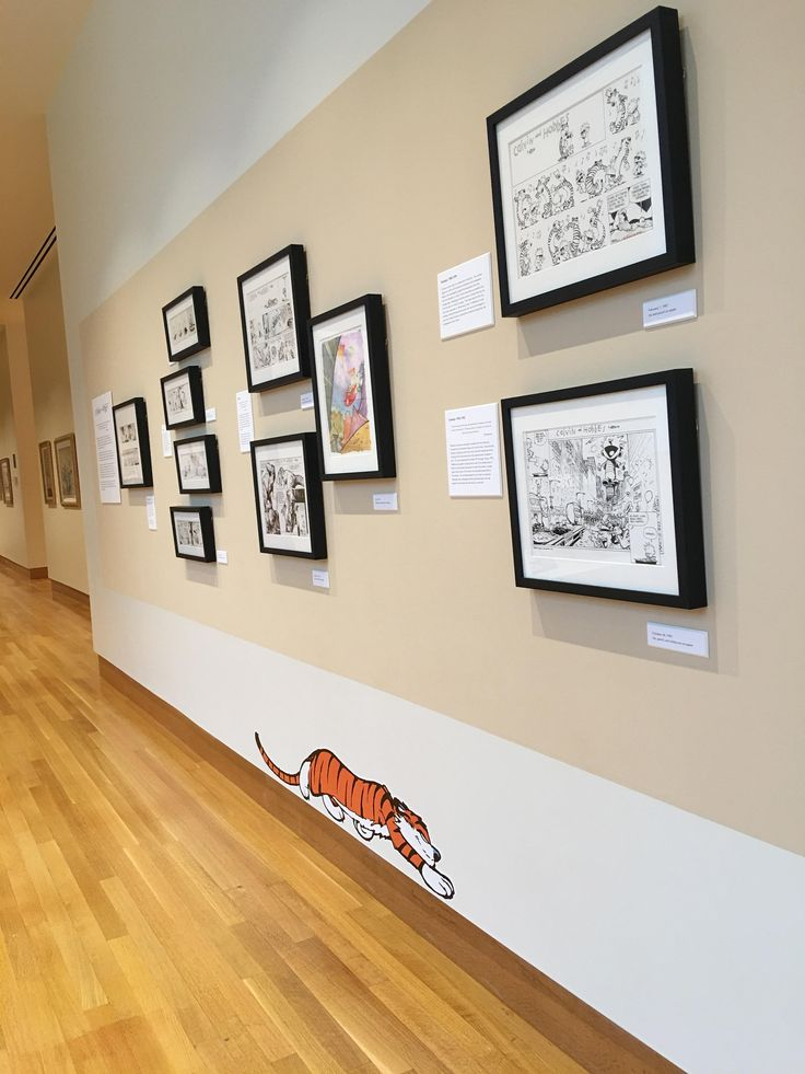 Passing through Columbus had to stop by the cartoon museum to see the C&H section