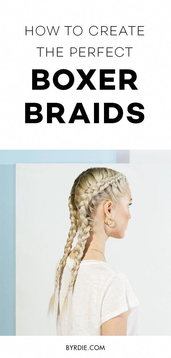 How to do a boxer braid #braidedhairstyles