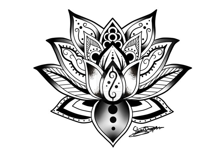 Mandala by ShinaDragon on deviantART