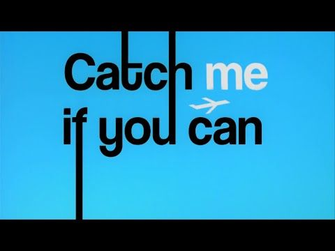 The full title sequence for Catch Me If You Can, I would like to do something…