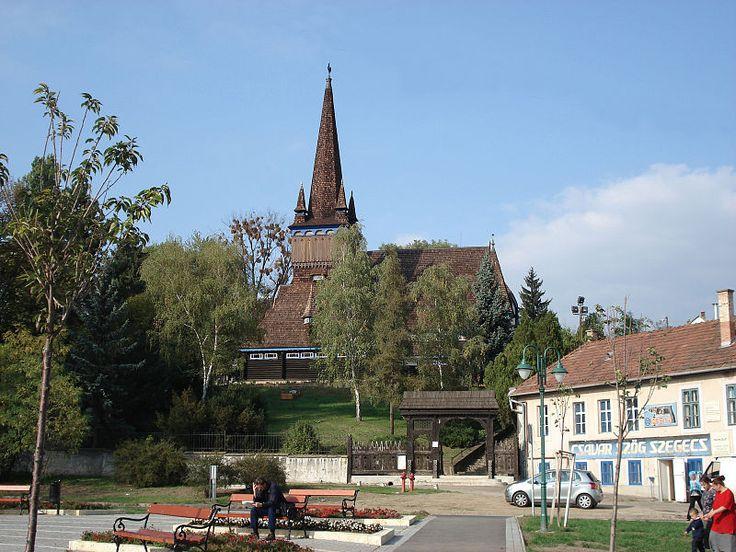 MISKOLC: the Deszkatemplom, or wooden church.