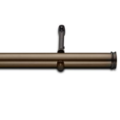 cambria elite complete decorative drapery rod in oil rubbed bronze drapery rodsbed bath u0026 beyondoil