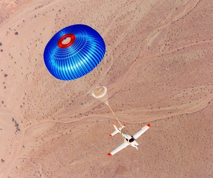 Cirrus SR22 parachute test. I hope I never have to do this!