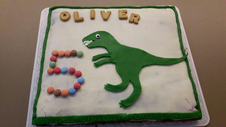 Dinosaurier Kuchen 5.Geburtstag