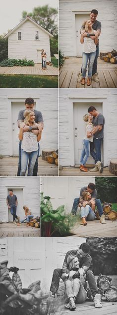 Such a cute engagement session!
