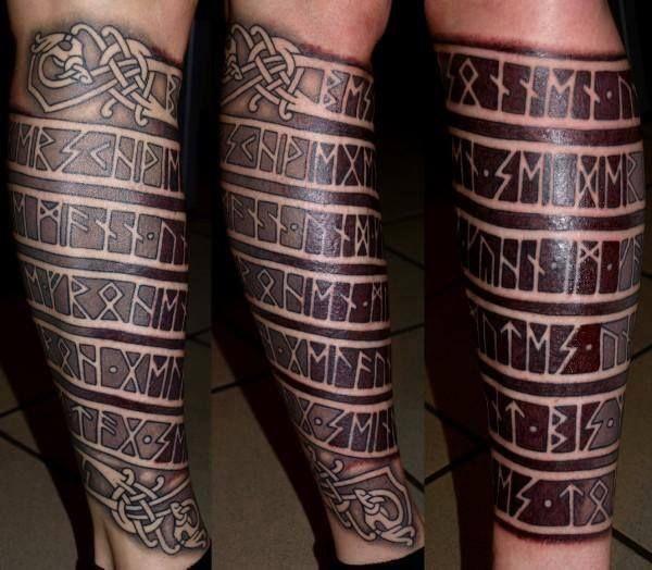 Image of Viking Rune tattoo