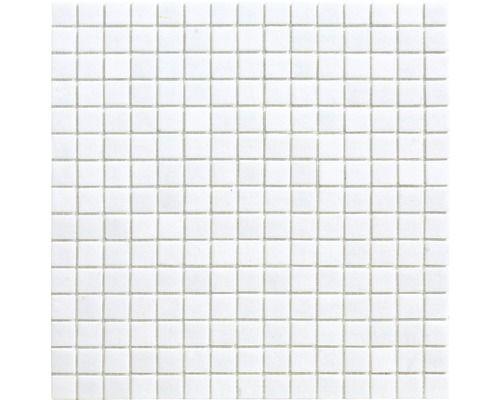 € 19,95 pm2 Hornbach Glasmozaïek A 11 wit 30,5 x 32,5 cm