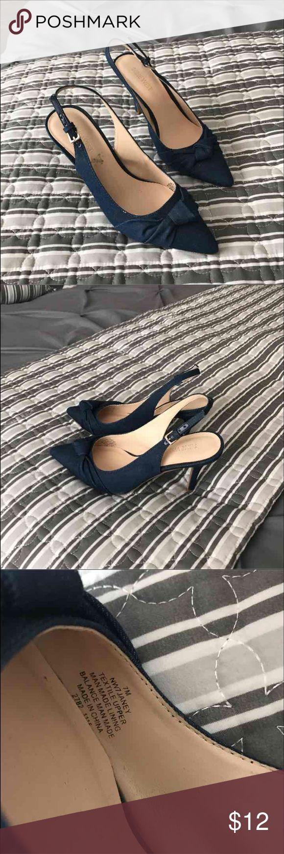 Nine West shoes Nine West. Shoes  good. Condition denim Nine West Shoes Heels