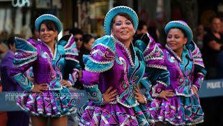 Los caporales es una danza típica Boliviana. La vestimenta de los caporales está en constante evolución . En general los hombres usan un pantalón de seda estilo militar, con una camisa como las guaracheras cubanas, botas con cascabeles y el sombrero de paja. Las mujeres llevan un vestido corto, el sombrero adornado por muchas cintas de diversos colores, una blusa de color, medias Nylon y zapatos de taco.