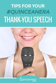 tips for thank you speech