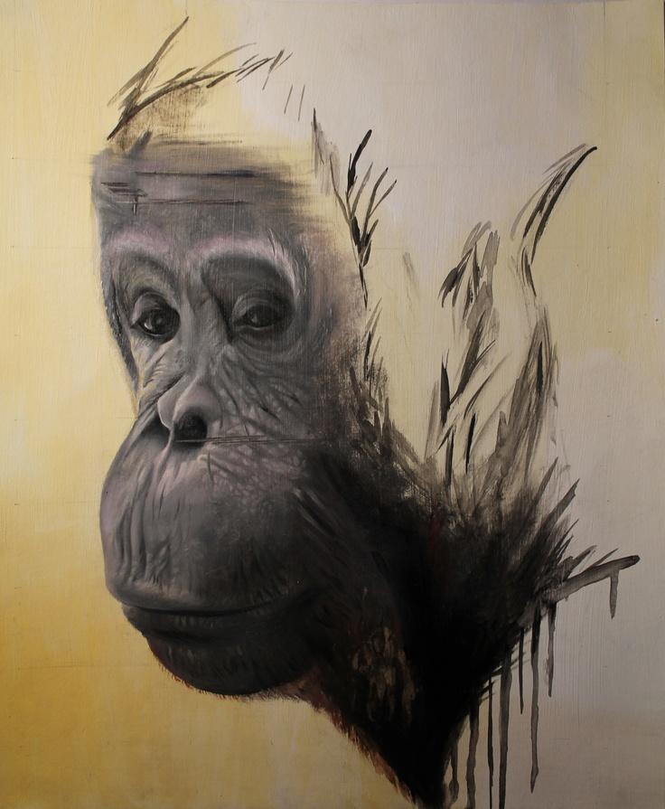 Logan Moffat,16. Oil painting