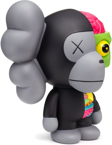 'Black Dissected Milo Companion' by Kaws & Bape produced by Medicom Toy. Surprised this was never released larger.