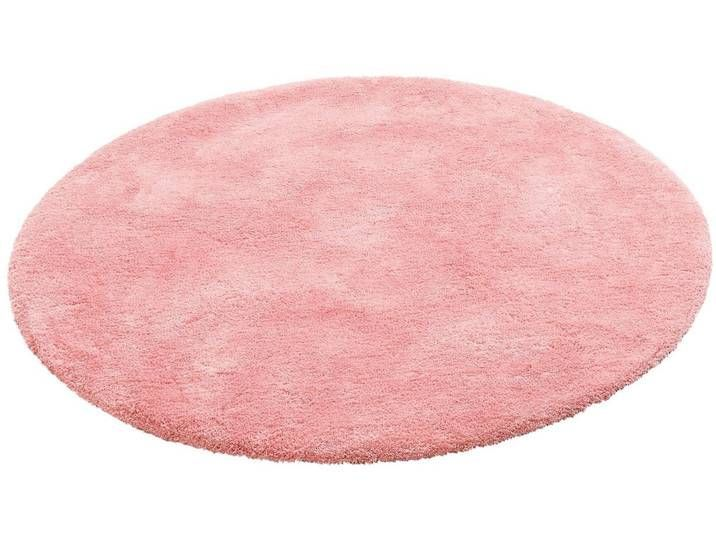 My Home Deep Pile Carpet Magong Round Height 25 Mm Particularly Soft Due To Microfiber Pink Dusky Pink Carp In 2020 Teppich Altrosa Hochflor Teppich Teppich