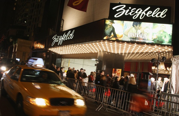 Ziegfeld Clearview Cinemas: This iconic theater is the largest single screen cinema in NYC. Movie premieres & gala events are frequently hosted here - Grab a front row seat at our Bridges Bar! - Andrew & Kazu / Sales Dept.