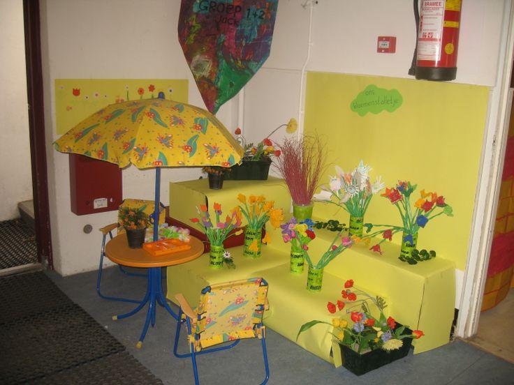 Themahoek Het bloemenstalletje Nutsschool Maastricht
