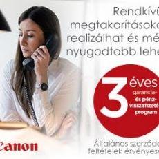 3 éves kiterjesztett garancia és pénz-visszatérítés.  http://fullszer.hu/web/site/www/index.php?r=site/action&id=3_eves_garancia