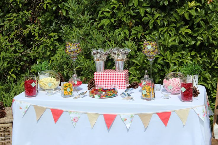 Outside Lolly Buffet www.coasttocountryweddingsandevents.com.au