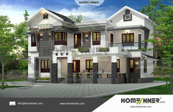 4 BHK Ultra Luxury villa plan