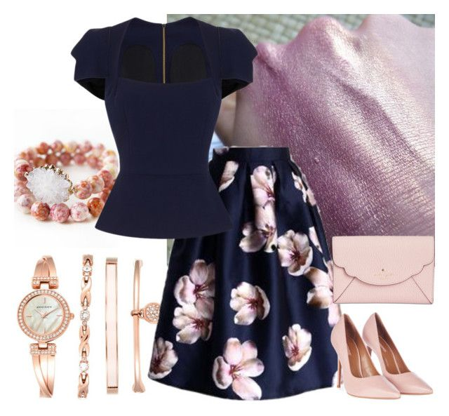 Missa Solemnis by glirendree on Polyvore featuring moda, Roland Mouret, Topshop, Kate Spade and Anne Klein